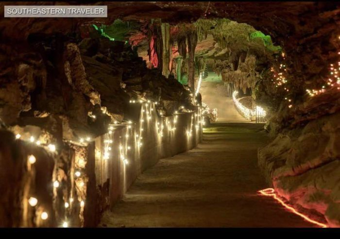 Cherokee Caverns Christmas 2020 Cherokee Caverns Is A Unique Christmas Destination in Tennessee in