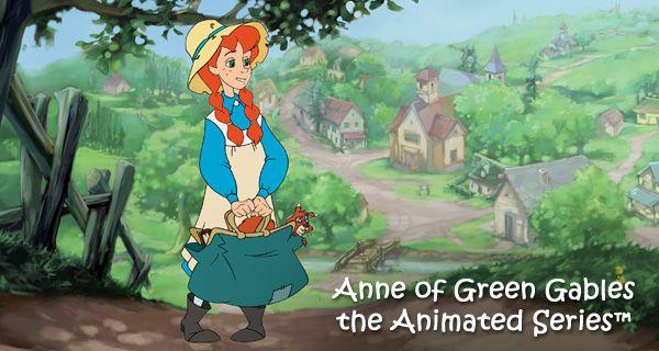 Cartoon Green Anne Gables