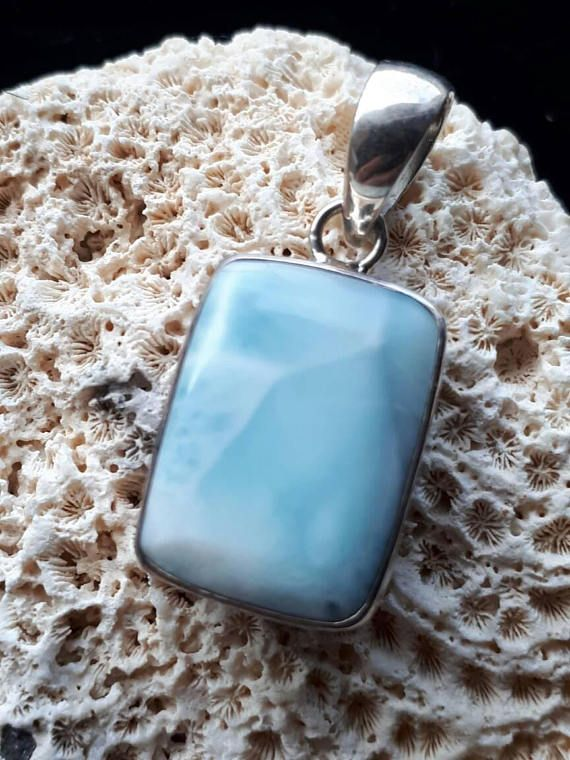 Check out this item in my Etsy shop https://www.etsy.com/ca/listing/532057006/larimar-pendant
