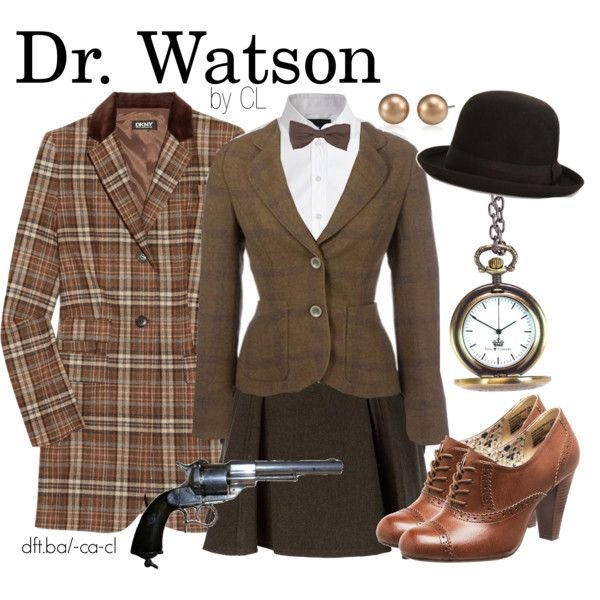Dr. Watson, created by chelsealauren10 on Polyvore. ....  I'd wear it