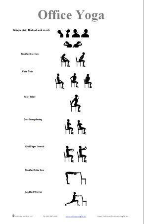 11 best 5 minute stretch break images on pinterest  desk