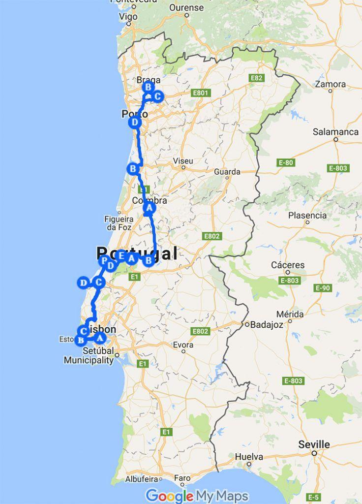 Roteiro Portugal Um Itinerario De 7 Dias De Lisboa Ao Porto