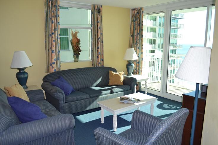 Enjoy spacious living at Avista Resort Hotel in Myrtle Beach, SC http://www.avistaresort.com/accommodations-en.html