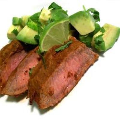 Flat Iron Steak with Three Pepper Rub: Flat Irons, Fun Recipes, Wonder Rubbed, Tasti Recipes, Flatiron, Flats Irons, Spices Combinations, Simple Blend, Flank Steaks