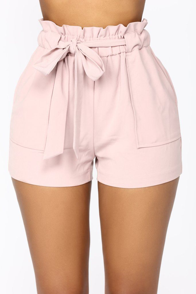 fce206f10ef Jessie High Waisted Shorts - Pink in 2019