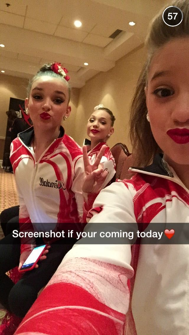 Snapchat- Mack Z, Kendall, and Maddie. ALDC