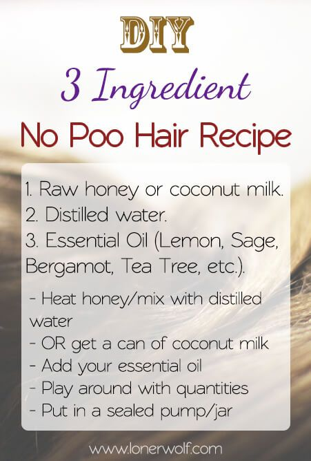 """8 """"No Poo"""" Essential Oils for Hair Care the Natural Way ⋆ LonerWolf"""
