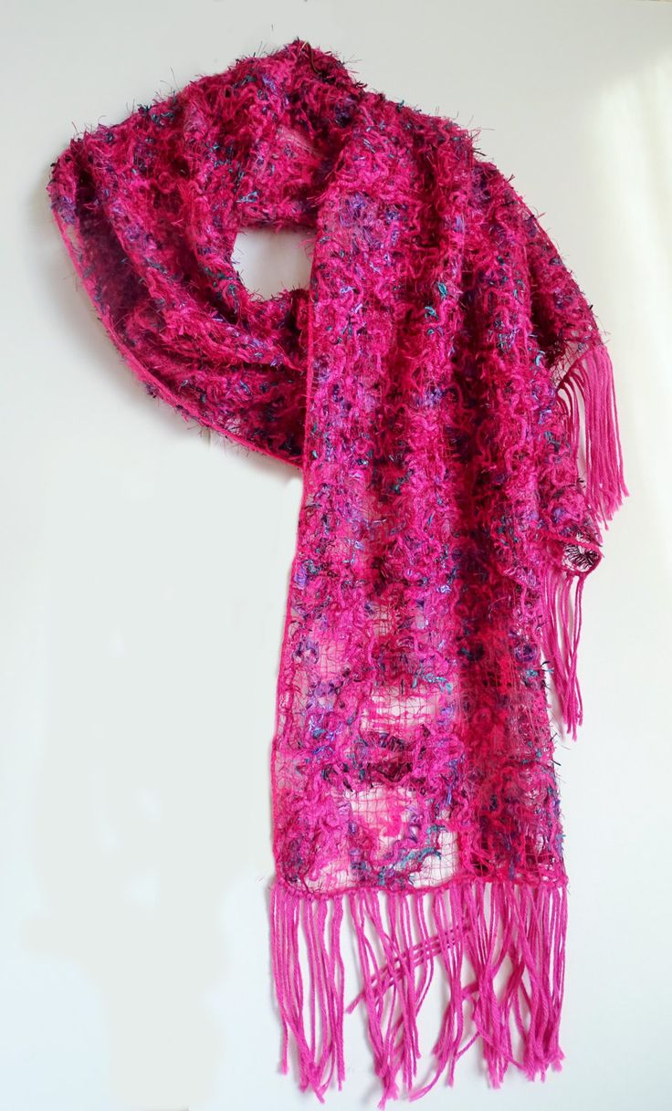 46 best shawls and scarves crazy wooll technique images on openwork pink wool scarf free shipping handmade crazy wool technique accessories gift for her warm gorgeous original unusual shawl negle Images