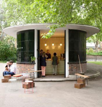 The kiosk, Bethnal Green Park Summer 2013  had some wonderful home made Elderflower cordial