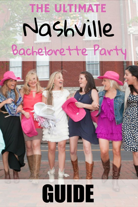 Everything you need to know for planning a bachelorette party in Nashville!  This guide covers ideas for places to stay, where to eat, and things to do for an amazing weekend in one of the most popular bachelorette party destinations -- Nashville, TN!