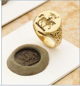 Bible Signet Ring