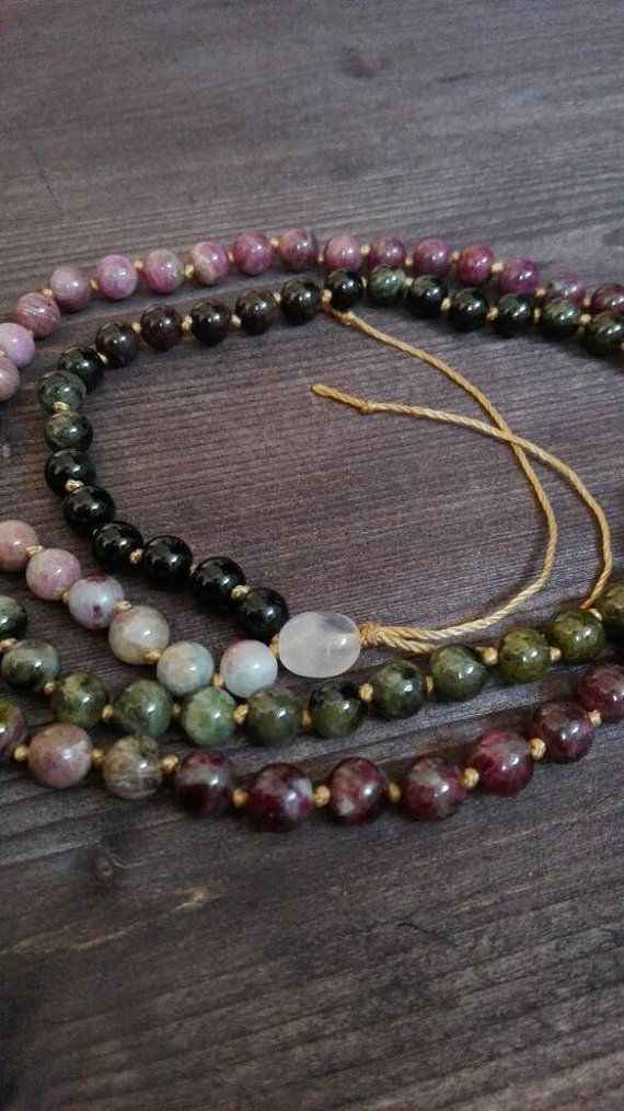 Check out this item in my Etsy shop https://www.etsy.com/listing/247449518/108-beads-tourmaline-handmade-mala