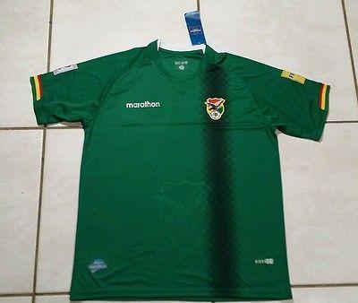 NWT MARATHON Bolivia National Team Soccer Jersey Men s XL  0f9345479