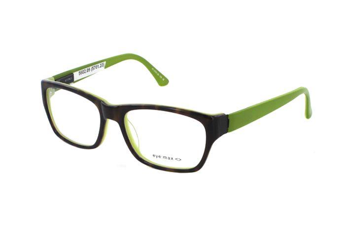 eye:max 5794 2 Brille in havanna-jadegrün Lass es Krachen. Mit den neuen Kunststoffmodellen von Eye:max. Einfach MEGA diese Brillen! Hol' sie dir...