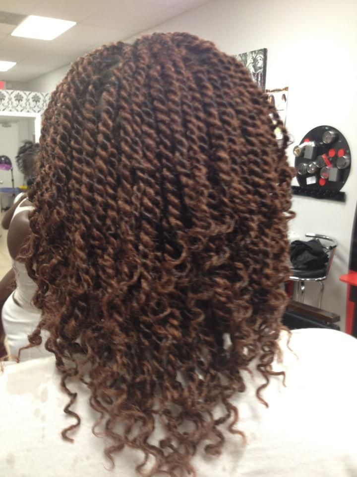 kinky twists with marley hair - Google Search