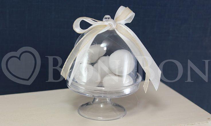 Alzatina Portaconfetti Trasparente | Confetteria, bomboniere e partecipazioni Bon Bon