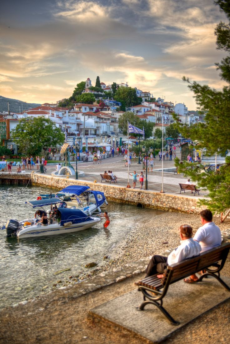 Old Port of Skiathos, Greece