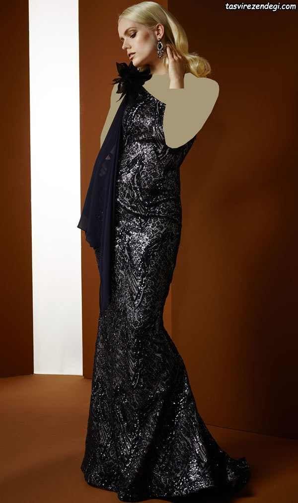 مدلهای شیک و زیبای لباس مجلسی بلند 2018 97 برند