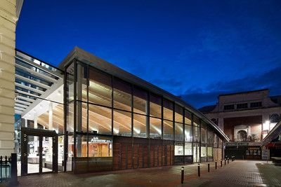 Leicester Market - Leicester by Greig & Stephenson Architects #markets #foodhalls #leicester #architecture
