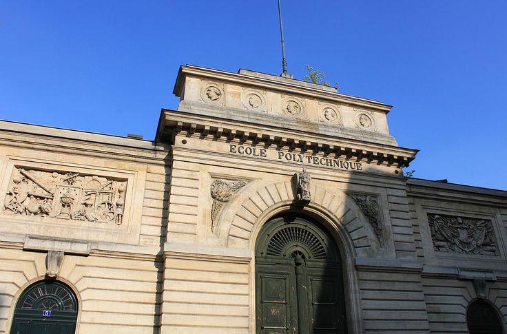 Ecole polytechnique former building entrance - École polytechnique (France) — Wikipédia