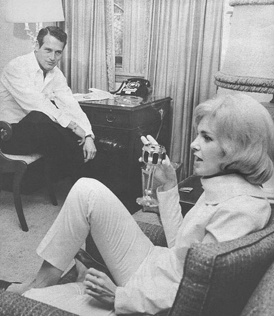 {great love stories № 09 | paul newman & joanne woodward} by {this is glamorous},