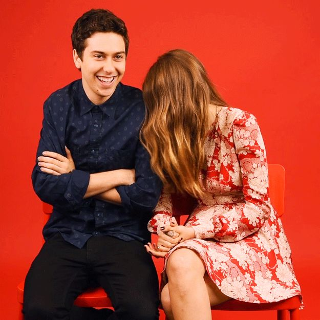 "14 ""Paper Towns"" Cast Superlatives With Cara Delevingne And Nat Wolff - Hilarious and cute"