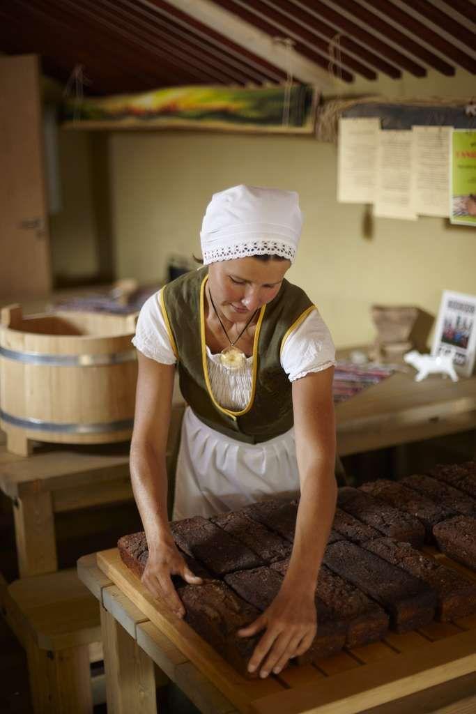 Estonian ray bread, Pärnumaa Bakery, Estonia