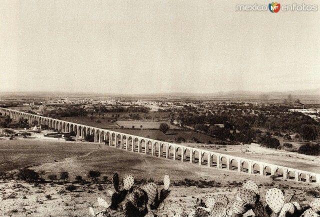 Acueducto de Querétaro, 1920.