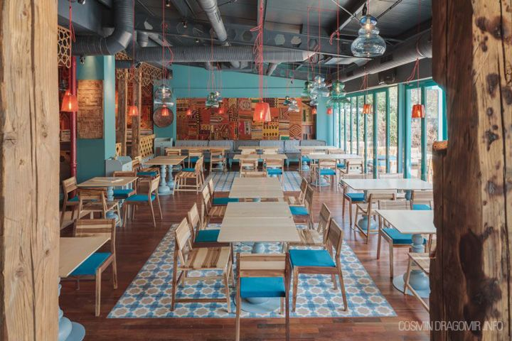 Divan Turkish restaurant by Corvin Cristian & Matei Niculescu, Bucharest – Romania