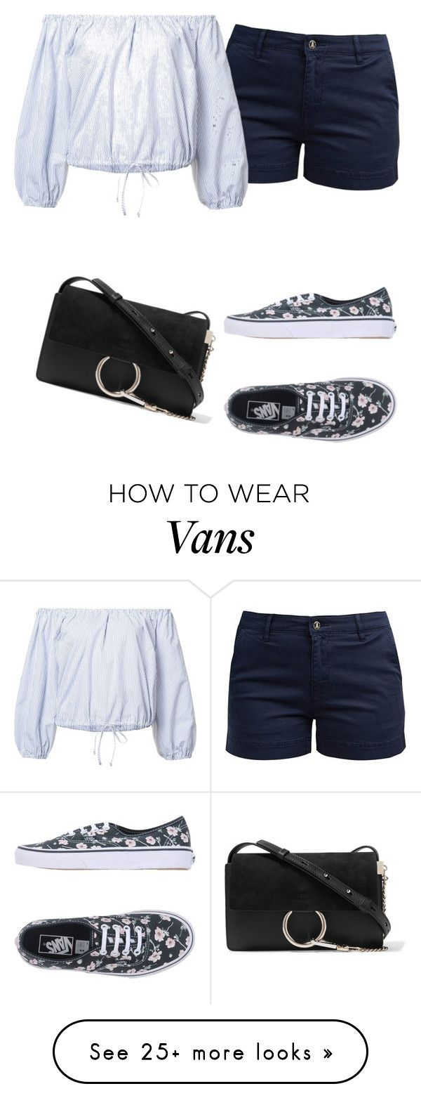 """Untitled #2616"" by samanthay7 on Polyvore featuring Barbour, Sea, New York, Vans and Chloé"