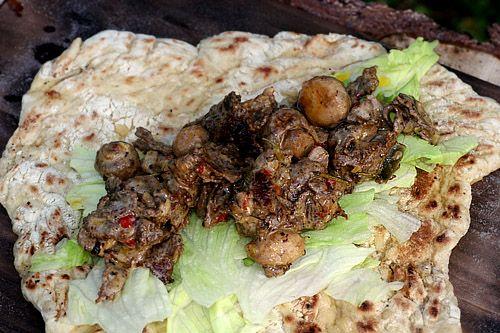 Muurikka - maten & kärleken... Norrlandskebab med nybakat, mjukt tunnbröd och renskav
