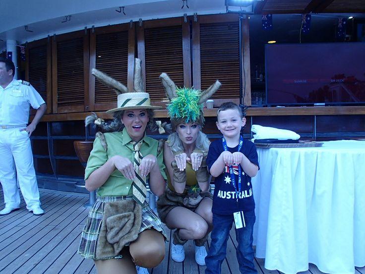 #AustraliaDayOnboard #PacificJewel #POCruisesAustralia