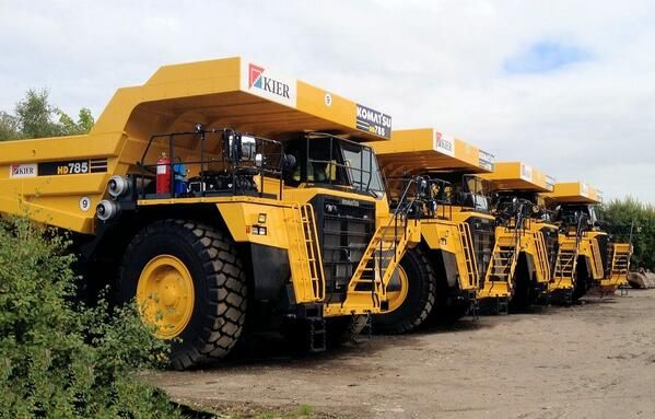 These four beauties are to be delivered this week to the @Kier Group Greenburn Surface Mine in Ayrshire Scotland
