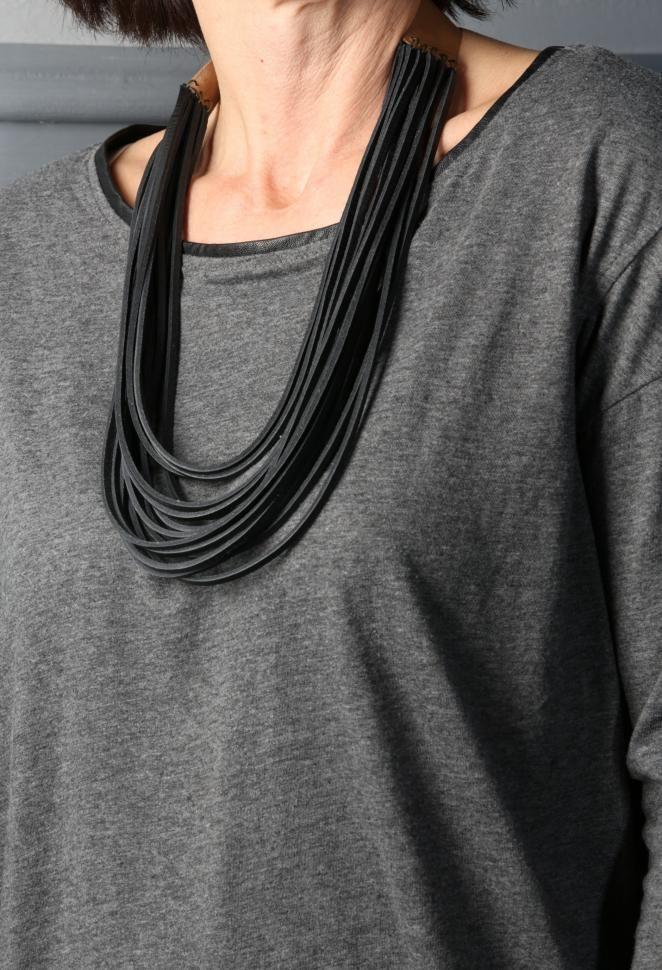 Mod Collar Negro   Viva La Woolf