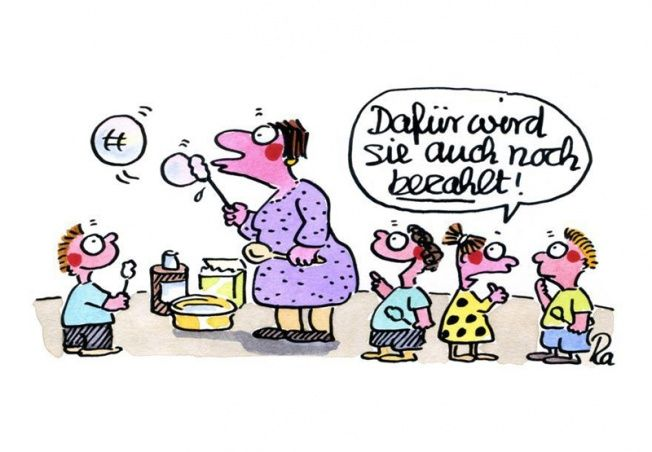 Kindergarten_KiGaPortal_Cartoon_Renate Alf_Seifenblasen