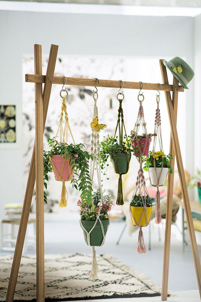 عکس دیزاین خانه با استفاده از گیاهان طبیعی