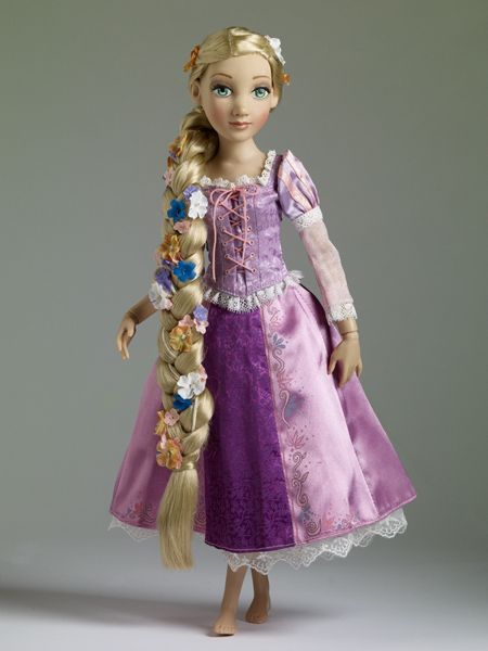 Rapunzel, from Disney's Tangled. From Tonner Dolls.