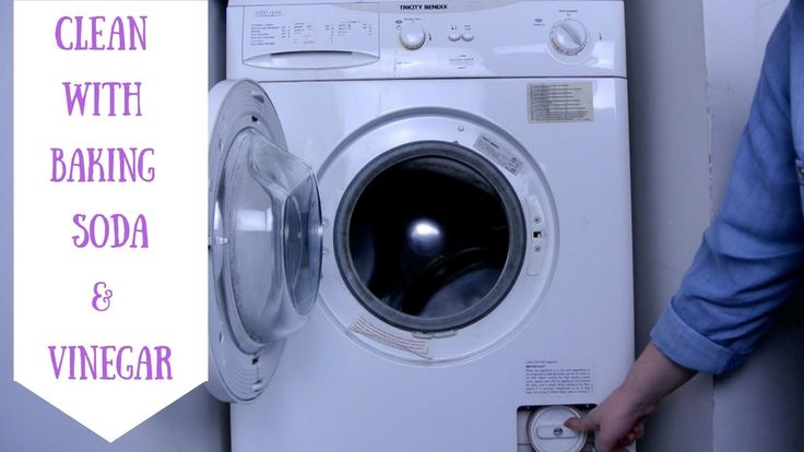 how to clean washing machine with bicarb and vinegar