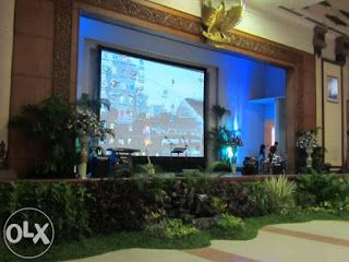 Jasa Sewa LCD Proyektor dan Big Screen Surabaya