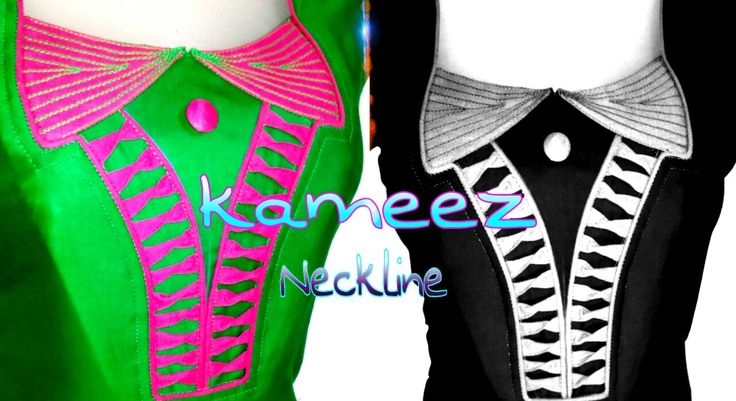 New Neck Designs - For KURTI & KAMEEZ - Easy Making - Cutting & Sewing