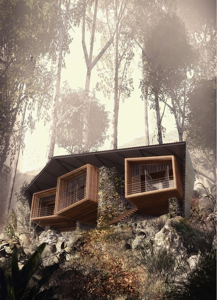 Bukit Lawang Lodge by Foster Lomas Architecture & Landscape in Medan, Indonesia
