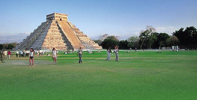 """#ChichénItzá la ciudad maya más famosa del mundo y una de las 7 Maravillas """"Modernas"""""""