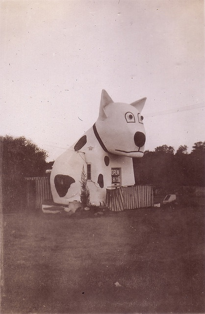 dog house - now identified by TinTrunk, via Flickr