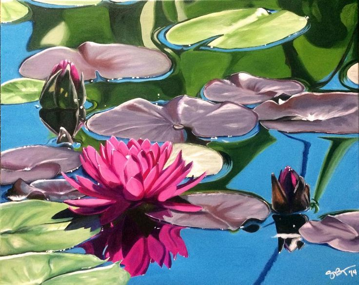 Water Lilies - via @Craftsy