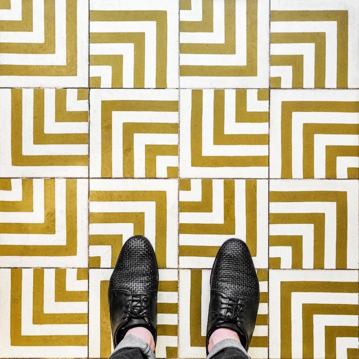 Photographer Sebastian Erras's Paris-based project: pattern tiles