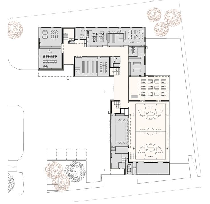 Multipurpose Sports Hall and Secondary School Collège du Léman / Graeme Mann & Patricia Capua Mann