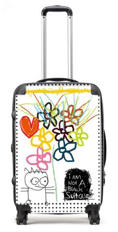 NEW I am not a black suitcase II (68cm)