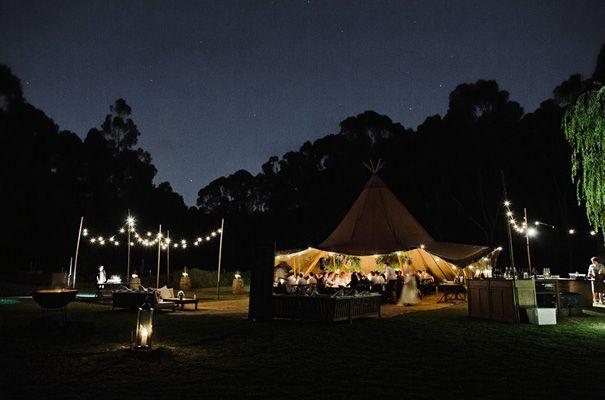 Zest Tipi for CARMEN + MICHAEL's wedding | www.thezestgroupwa.com.au | Photo by Teneil Kable