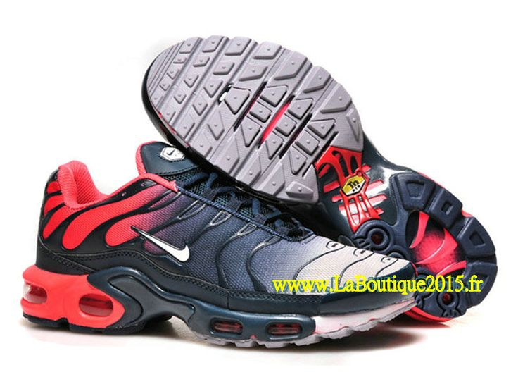 Nike Air Max Tn/Tuned Requin 2015 - Chaussures Pour Homme Rouge/Noir/