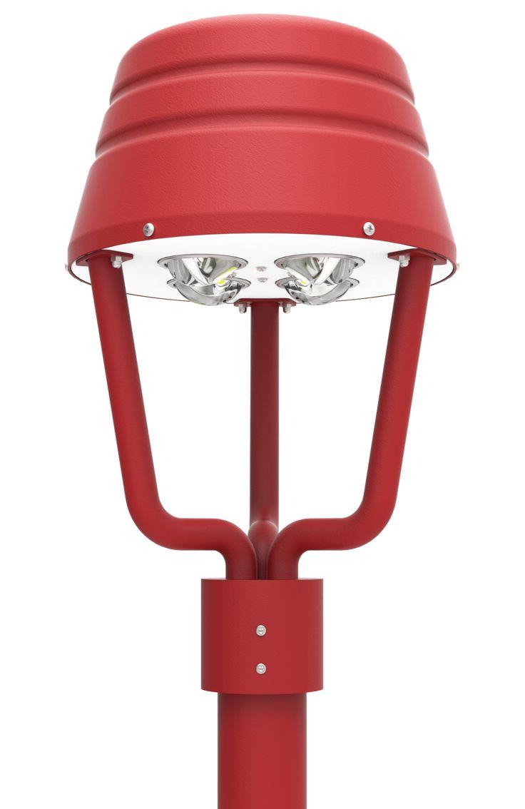 LED Post Top Light Fixtures 120 Series  http://DukeLight.com/120